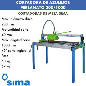 Cortadora de materiales PERLANATO 200-1000