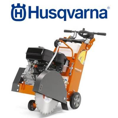 Cortadoras de suelo y hormigón Husqvarna