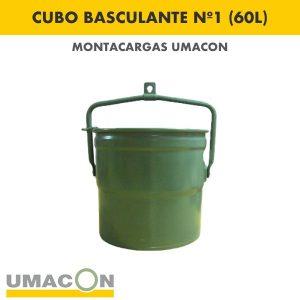 Cubo Basculante Nº 1 (60 litros)
