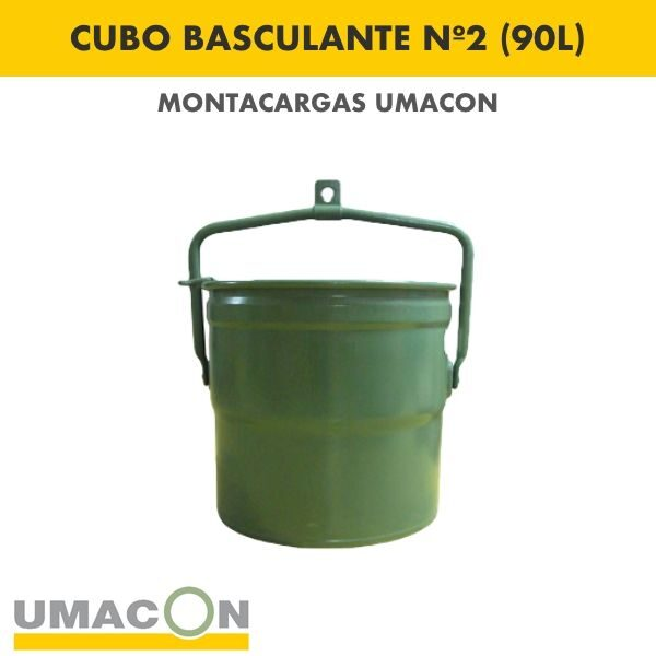 Cubo Basculante Nº 2 (90 litros)