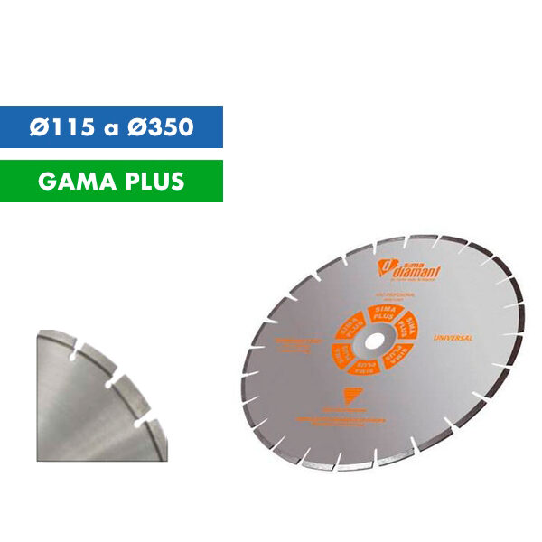 Diamantscheibe Sima Granite Construction Ø115 bis Ø350