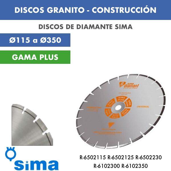 DISCOS GRANITO - CONSTRUCCIÓN