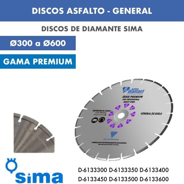 Disco Asfalto General Ø300 Ø600 D-6133300