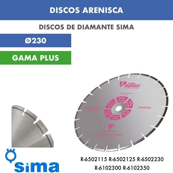 Disco de diamante Sima Arenisca Ø230