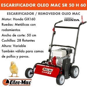 ESCARIFICADOR OLEO MAC SR 50 H 60