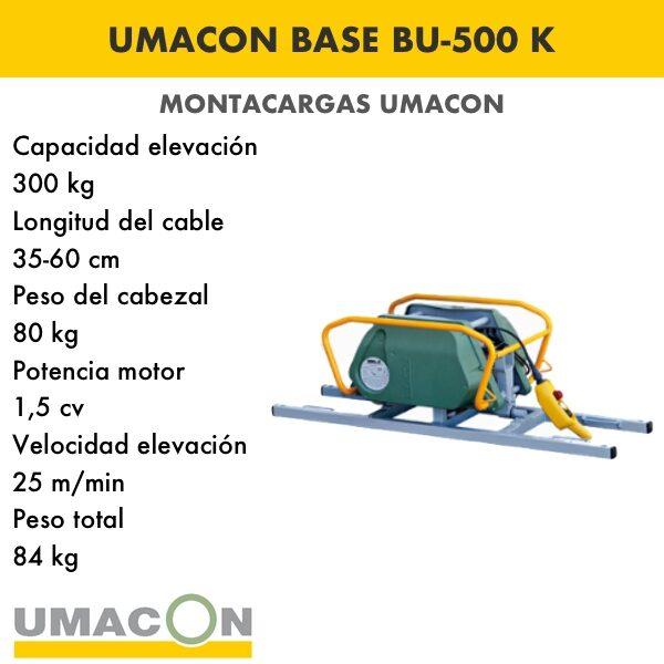 Elevador Base BU-500 K