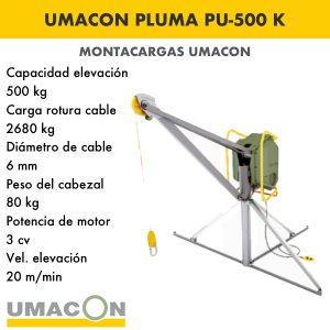 Elevador Pluma PU-500 K