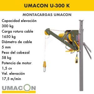 Elevador U-300 K