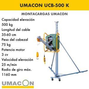 Elevador UCB-500 K