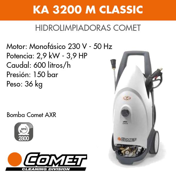 Hidrolimpiadora Comet KA 3200 M CLASSIC