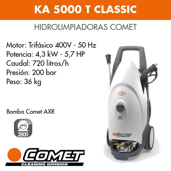 Hidrolimpiadora Comet - KA 5000 T CLASSIC