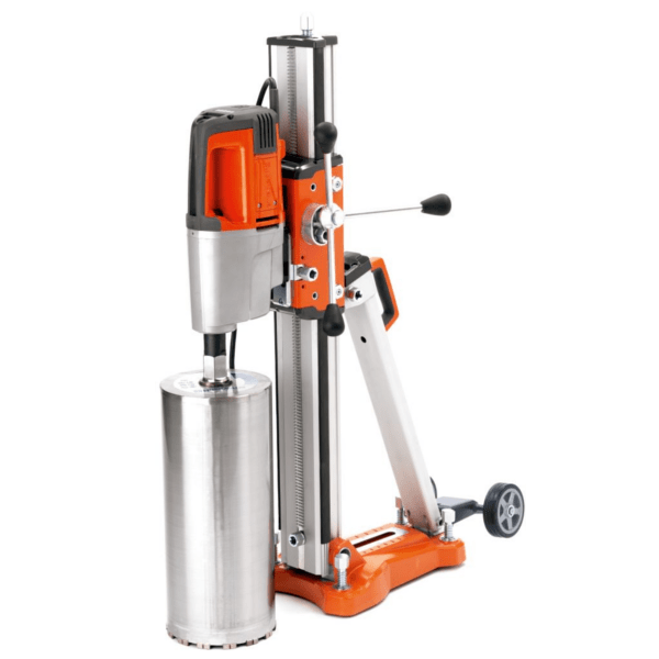 Perforadora de hormigón Husqvarna DM 280 con soporte DS 250, kit de anclaje y corona 132 mm