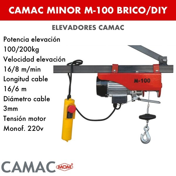 Montacargas Camac MINOR M-100 BRICO/DIY