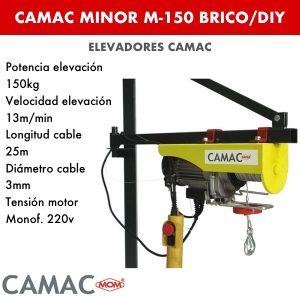 Montacargas Camac MINOR M-150 BRICO:DIY