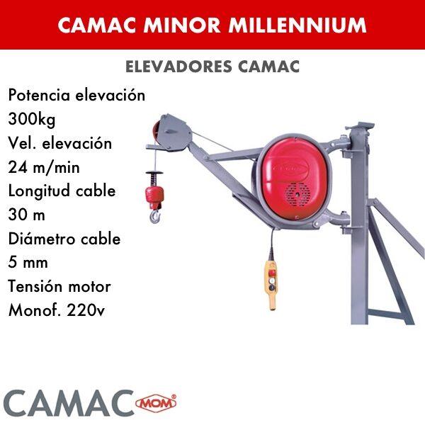 Montacargas Camac MINOR MILLENNIUM