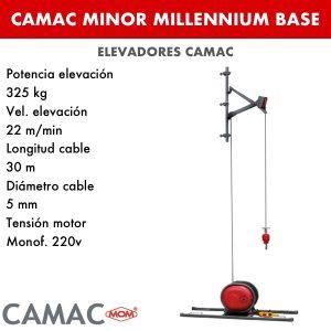 Montacargas Camac MINOR MILLENNIUM BASE