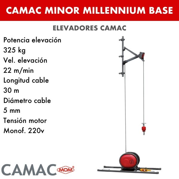 Montacargas Camac MINOR MILLENNIUM BASE