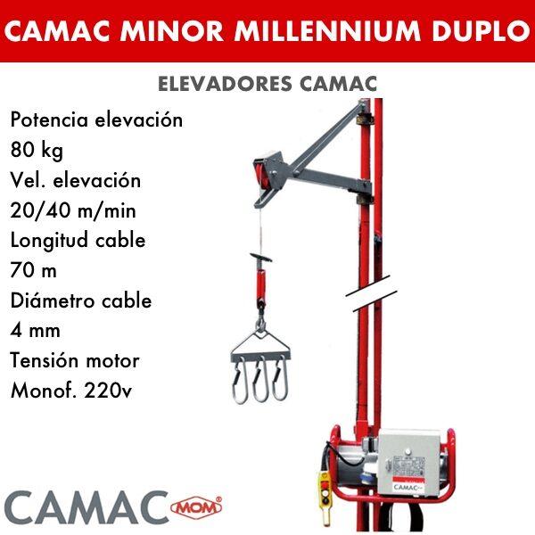 Montacargas Camac MINOR MILLENNIUM DUPLO