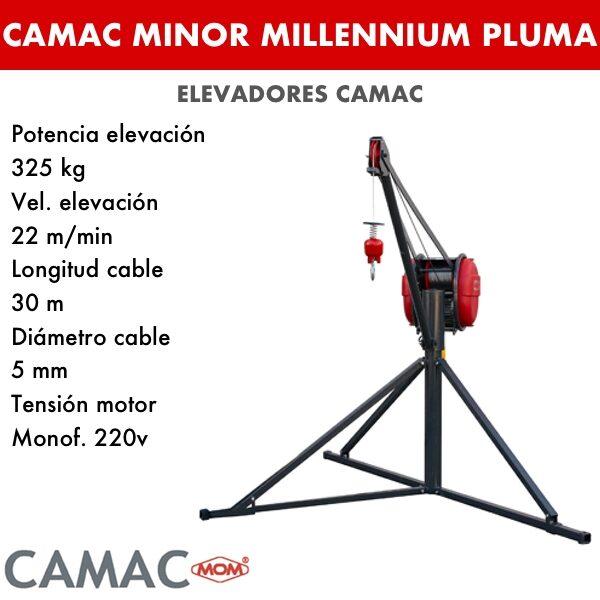 Montacargas Camac MINOR MILLENNIUM PLUMA