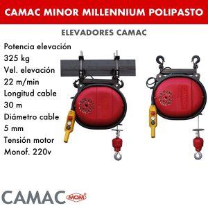 Montacargas Camac MINOR MILLENNIUM POLIPASTO