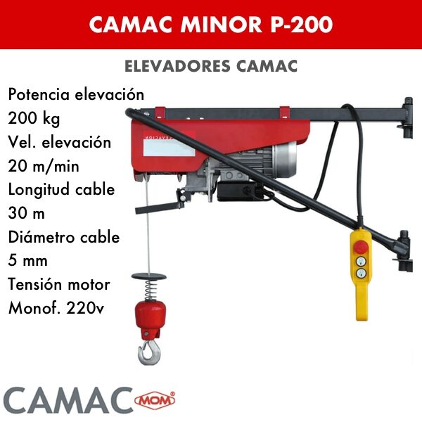 Montacargas Camac MINOR P-200