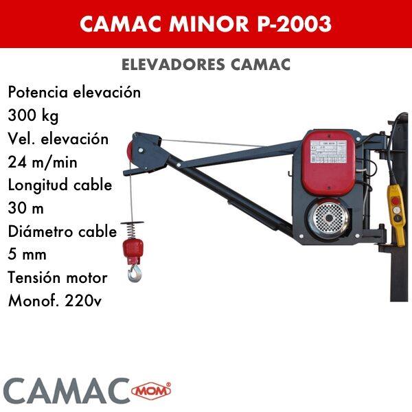 Montacargas Camac MINOR P-2003