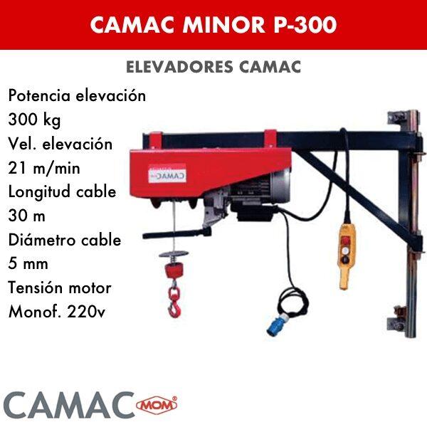 Montacargas Camac MINOR P-300