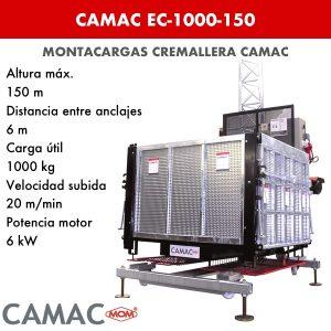 Montacargas a Cremallera CAMAC EC-1000-150