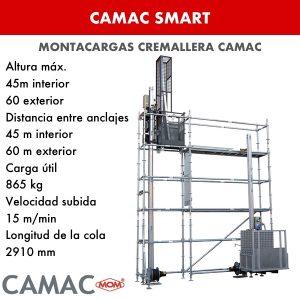 Montacargas a Cremallera CAMAC SMART