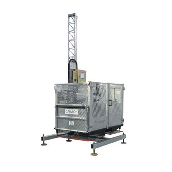 Montacargas cremallera CAMAC EC-600-120