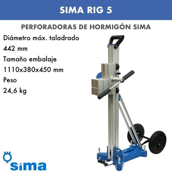 Perforadora de hormigón Sima RIG 5