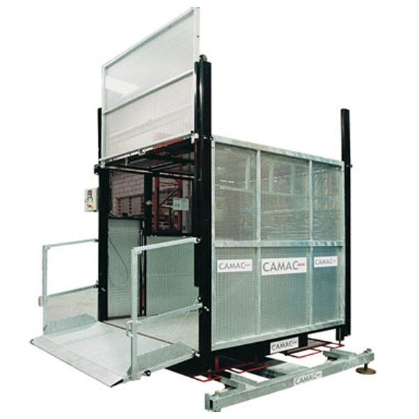 Plataforma elevadora de transporte CAMAC EPM-1500-150