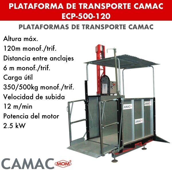 Plataformas de Transporte CAMAC ECP-500-120