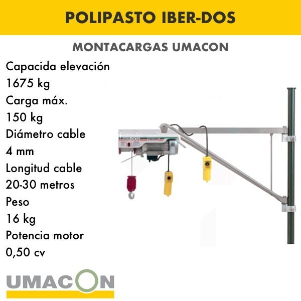 Polipasto IBER-DOS