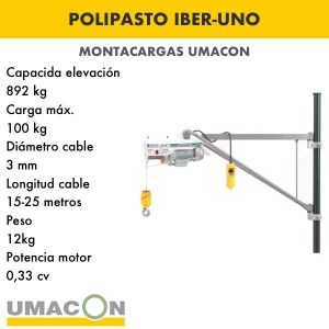 Polipasto IBER-UNO