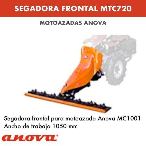 Segadora frontal para motoazada Anova MC1001
