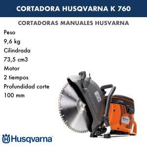 Tronzadora HUSQVARNA K 760