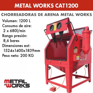 Chorreadora de arena Metal Works CAT1200