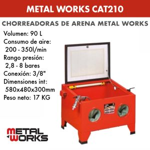 Chorreada de arena Metal Works CAT210