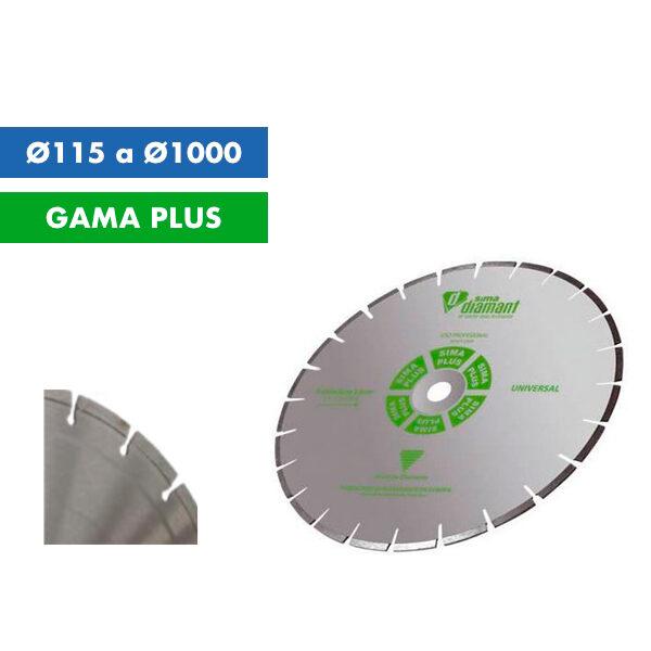Diamantscheibe Sima arbeitet allgemein 115Ø bis 1000Ø