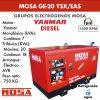 Grupo electrógeno Mosa GE-20 YSX/EAS