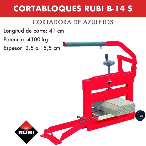 CORTABLOQUES RUBI B-14 S