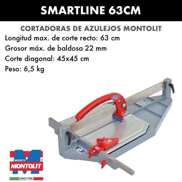 Cortadora de azulejos Montolit SmartLine 63cm