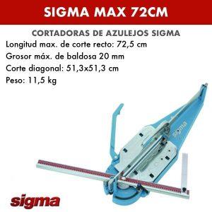 Cortadora de azulejos Sigma MAX 72cm