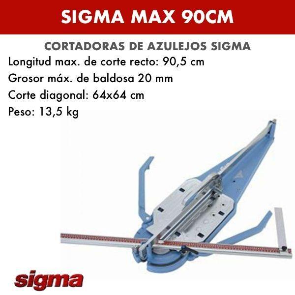 Cortadora de azulejos Sigma MAX 90cm