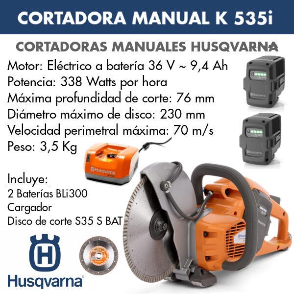 Cortadora manual K 535I
