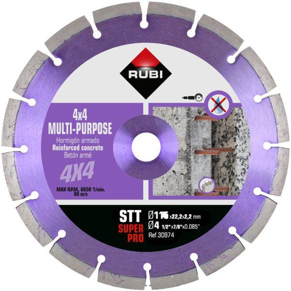 Diamantscheibe Rubi STT 115 SuperPro
