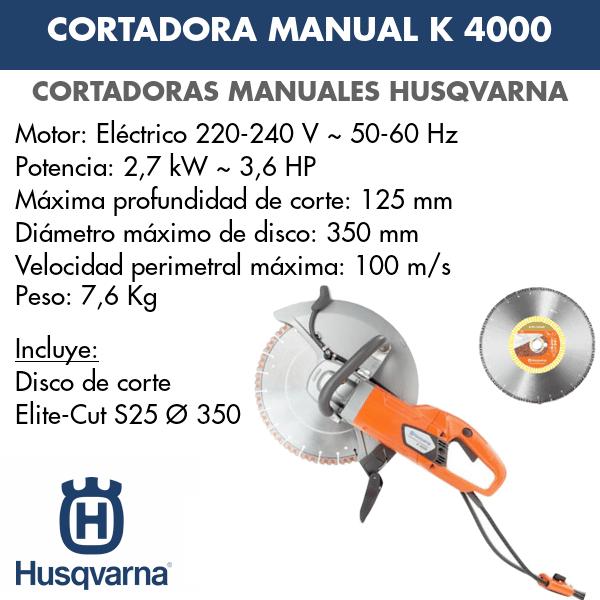 Husqvarna K 4000