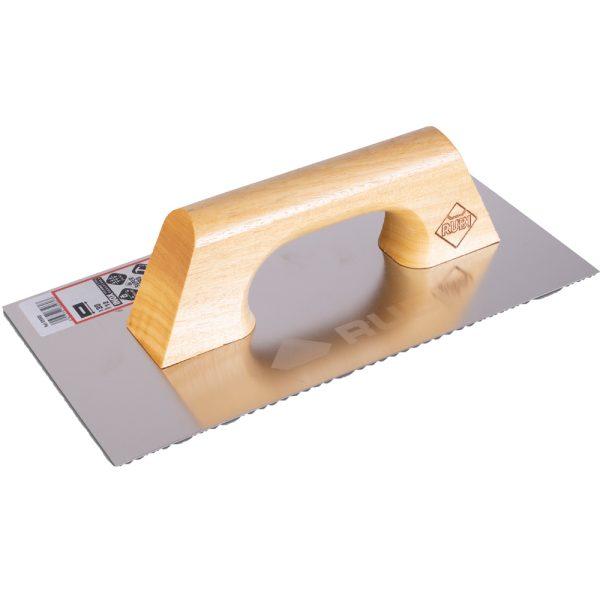 Plain stainless steel Rubi 30 cm