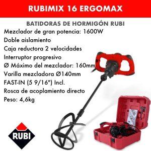 Mezclador eléctrico RUBIMIX-16 ERGOMAX